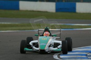 World © Octane Photographic Ltd. Donington Park test, Thursday 17th April 2014. Dunlop MSA Formula Ford Championship of Great Britain. Richardson Racing - Ovie Iroro - Mygale M12-SJ/Scholar. Digital Ref : 0905lb1d4771