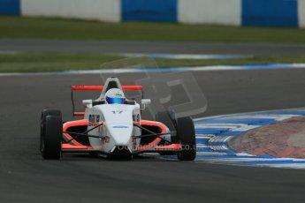 World © Octane Photographic Ltd. Donington Park test, Thursday 17th April 2014. Dunlop MSA Formula Ford Championship of Great Britain. SWB - James Webb – Sinter LA12/Scholar. Digital Ref : 0905lb1d4786