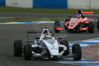 World © Octane Photographic Ltd. Donington Park test, Thursday 17th April 2014. Dunlop MSA Formula Ford Championship of Great Britain. JTR - Sam Brabham - Mygale M12-SJ/Mountune. Digital Ref : 0905lb1d4802
