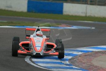World © Octane Photographic Ltd. Donington Park test, Thursday 17th April 2014. Dunlop MSA Formula Ford Championship of Great Britain. Radical Motorsport - Juan Rosso - Mygale M12-SJ/Mountune. Digital Ref : 0905lb1d4810