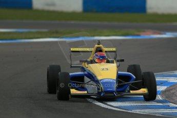 World © Octane Photographic Ltd. Donington Park test, Thursday 17th April 2014. Dunlop MSA Formula Ford Championship of Great Britain. Falcon Motorsport - Chris Mealin - Mygale M12-SJ/Swindon. Digital Ref : 0905lb1d4850