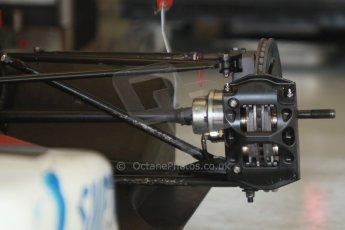 World © Octane Photographic Ltd. Eurocup Formula Renault 2.0 Championship testing. Jerez de la Frontera, Thursday 27th March 2014. Formula Renault 2.0 rear brakes. Digital Ref :  0900cb1d7573