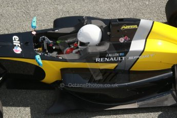 World © Octane Photographic Ltd. Eurocup Formula Renault 2.0 Championship testing. Jerez de la Frontera, Thursday 27th March 2014. Arta Engineering – James Allen. Digital Ref :  0900cb1d7650