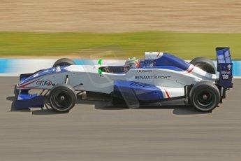 World © Octane Photographic Ltd. Eurocup Formula Renault 2.0 Championship testing. Jerez de la Frontera, Thursday 27th March 2014. Koiranen GP – Ignazia D'Agosto. Digital Ref :  0900cb1d7696