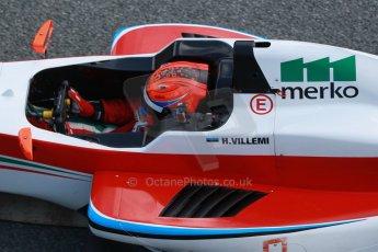 World © Octane Photographic Ltd. Eurocup Formula Renault 2.0 Championship testing. Jerez de la Frontera, Thursday 27th March 2014. Prema Powerteam – Hans Villemi. Digital Ref :  0900cb1d7730