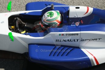 World © Octane Photographic Ltd. Eurocup Formula Renault 2.0 Championship testing. Jerez de la Frontera, Thursday 27th March 2014. Koiranen GP – Ignazia D'Agosto. Digital Ref :  0900cb1d7743