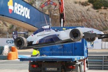 World © Octane Photographic Ltd. Eurocup Formula Renault 2.0 Championship testing. Jerez de la Frontera, Thursday 27th March 2014. Koiranen GP – Nicholas Surguladze. Digital Ref :  0900cb1d7787