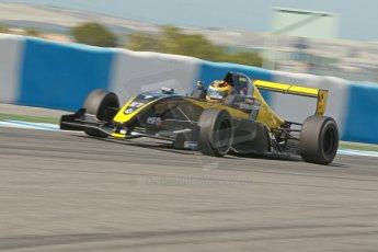 World © Octane Photographic Ltd. Eurocup Formula Renault 2.0 Championship testing. Jerez de la Frontera, Thursday 27th March 2014. Arta Engineering – Darius Oskoui. Digital Ref :  0900cb1d7870