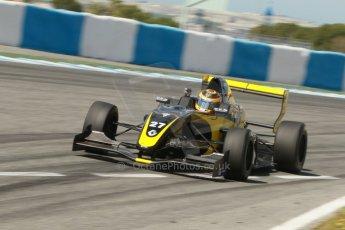 World © Octane Photographic Ltd. Eurocup Formula Renault 2.0 Championship testing. Jerez de la Frontera, Thursday 27th March 2014. Arta Engineering – Darius Oskoui. Digital Ref :  0900cb1d7934