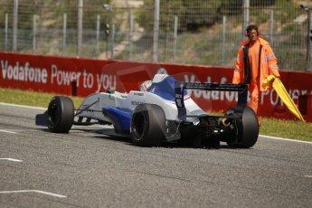 World © Octane Photographic Ltd. Eurocup Formula Renault 2.0 Championship testing. Jerez de la Frontera, Thursday 27th March 2014. Koiranen GP – Ignazia D'Agosto. Digital Ref :  0900cb1d8042