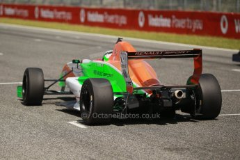 World © Octane Photographic Ltd. Eurocup Formula Renault 2.0 Championship testing. Jerez de la Frontera, Thursday 27th March 2014. Manor MP Motorsports – Andrea Pizzitola. Digital Ref :  0900cb1d8044