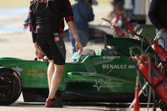 World © Octane Photographic Ltd. Eurocup Formula Renault 2.0 Championship testing. Jerez de la Frontera, Thursday 27th March 2014. Fortec Motorsports – Matt (Matthew) Parry. Digital Ref : 0900cb7d8293