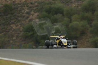 World © Octane Photographic Ltd. Eurocup Formula Renault 2.0 Championship testing. Jerez de la Frontera, Thursday 27th March 2014. Arta Engineering – Darius Oskoui. Digital Ref :  0900lb1d0004