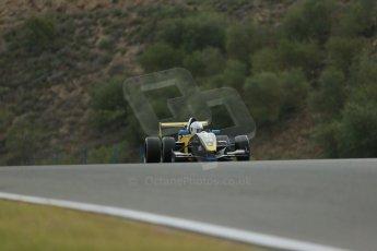 World © Octane Photographic Ltd. Eurocup Formula Renault 2.0 Championship testing. Jerez de la Frontera, Thursday 27th March 2014. Arta Engineering – James Allen. Digital Ref :  0900lb1d0285