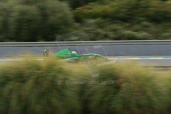 World © Octane Photographic Ltd. Eurocup Formula Renault 2.0 Championship testing. Jerez de la Frontera, Thursday 27th March 2014. Fortec Motorsports – Matt (Matthew) Parry. Digital Ref :  0900lb1d0419