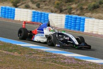 World © Octane Photographic Ltd. Eurocup Formula Renault 2.0 Championship testing. Jerez de la Frontera, Thursday 27th March 2014. Tech 1 Racing – Egor Orudzhev. Digital Ref :  0900lb1d0687