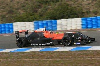World © Octane Photographic Ltd. Eurocup Formula Renault 2.0 Championship testing. Jerez de la Frontera, Thursday 27th March 2014. Tech 1 Racing – Vasily Romanov. Digital Ref :  0900lb1d0702