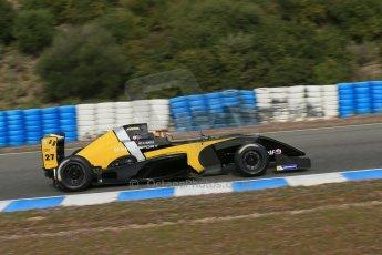 World © Octane Photographic Ltd. Eurocup Formula Renault 2.0 Championship testing. Jerez de la Frontera, Thursday 27th March 2014. Arta Engineering – Darius Oskoui. Digital Ref :  0900lb1d0712