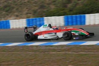 World © Octane Photographic Ltd. Eurocup Formula Renault 2.0 Championship testing. Jerez de la Frontera, Thursday 27th March 2014. Prema Powerteam – Hans Villemi. Digital Ref :  0900lb1d0737