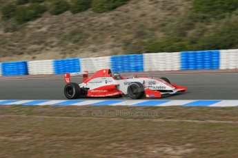 World © Octane Photographic Ltd. Eurocup Formula Renault 2.0 Championship testing. Jerez de la Frontera, Thursday 27th March 2014. Josef Kaufmann Racing – Kevin Joerg. Digital Ref : 0900lb1d0773