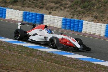 World © Octane Photographic Ltd. Eurocup Formula Renault 2.0 Championship testing. Jerez de la Frontera, Thursday 27th March 2014. ART Junior Team - Aureilen Panis. Digital Ref :  0900lb1d0829