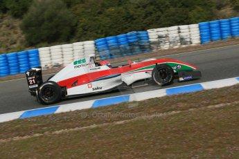 World © Octane Photographic Ltd. Eurocup Formula Renault 2.0 Championship testing. Jerez de la Frontera, Thursday 27th March 2014. Prema Powerteam – Hans Villemi. Digital Ref :  0900lb1d0872