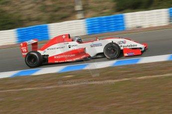 World © Octane Photographic Ltd. Eurocup Formula Renault 2.0 Championship testing. Jerez de la Frontera, Thursday 27th March 2014. Josef Kaufmann Racing – Kevin Joerg. Digital Ref : 0900lb1d0892