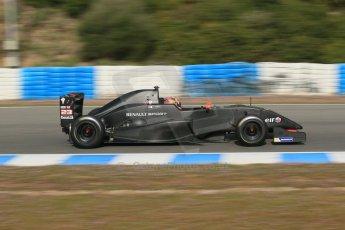 World © Octane Photographic Ltd. Eurocup Formula Renault 2.0 Championship testing. Jerez de la Frontera, Thursday 27th March 2014 – Alexander Albon. KTR. Digital Ref :  0900lb1d0935
