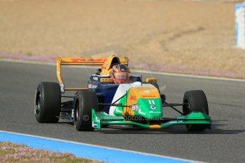 World © Octane Photographic Ltd. Eurocup Formula Renault 2.0 Championship testing. Jerez de la Frontera, Thursday 27th March 2014. Manor MP Motorsports – Steijn Schothorst. Digital Ref :  0900lb1d1051