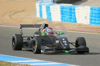 World © Octane Photographic Ltd. Eurocup Formula Renault 2.0 Championship testing. Jerez de la Frontera, Thursday 27th March 2014. Manor MP Motorsports – Max Verstappen. Digital Ref :  0900lb1d1070
