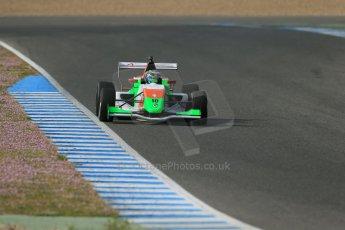 World © Octane Photographic Ltd. Eurocup Formula Renault 2.0 Championship testing. Jerez de la Frontera, Thursday 27th March 2014. Manor MP Motorsports – Andrea Pizzitola. Digital Ref :  0900lb1d1111
