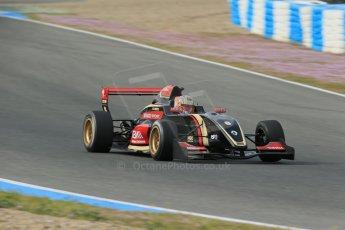 World © Octane Photographic Ltd. Eurocup Formula Renault 2.0 Championship testing. Jerez de la Frontera, Thursday 27th March 2014. ART Junior Team – Callan O'Keeffe. Digital Ref :  0900lb1d1184