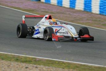 World © Octane Photographic Ltd. Eurocup Formula Renault 2.0 Championship testing. Jerez de la Frontera, Thursday 27th March 2014. Tech 1 Racing – Anthoine Hubert. Digital Ref :  0900lb1d1261