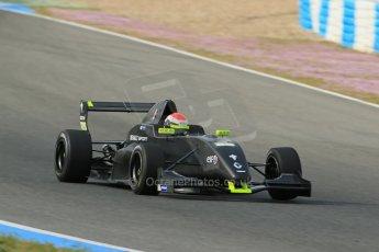 World © Octane Photographic Ltd. Eurocup Formula Renault 2.0 Championship testing. Jerez de la Frontera, Thursday 27th March 2014. KTR – Jules Gounon. Digital Ref :  0900lb1d1294