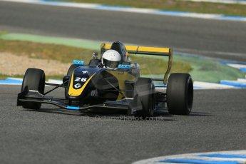World © Octane Photographic Ltd. Eurocup Formula Renault 2.0 Championship testing. Jerez de la Frontera, Thursday 27th March 2014. Arta Engineering – James Allen. Digital Ref :  0900lb1d1465