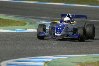 World © Octane Photographic Ltd. Eurocup Formula Renault 2.0 Championship testing. Jerez de la Frontera, Thursday 27th March 2014. Koiranen GP – Nicholas Surguladze. Digital Ref :  0900lb1d1479