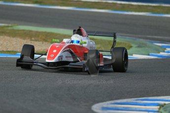 World © Octane Photographic Ltd. Eurocup Formula Renault 2.0 Championship testing. Jerez de la Frontera, Thursday 27th March 2014. Fortec Motorsports – Martin Rump. Digital Ref :  0900lb1d1514
