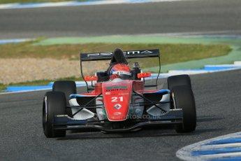 World © Octane Photographic Ltd. Eurocup Formula Renault 2.0 Championship testing. Jerez de la Frontera, Thursday 27th March 2014. Prema Powerteam – Hans Villemi. Digital Ref :  0900lb1d1529