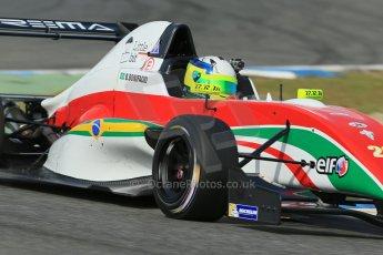 World © Octane Photographic Ltd. Eurocup Formula Renault 2.0 Championship testing. Jerez de la Frontera, Thursday 27th March 2014. Prema Powerteam – Bruno Bonifacio. Digital Ref :  0900lb1d1593