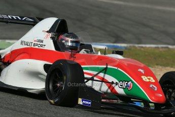 World © Octane Photographic Ltd. Eurocup Formula Renault 2.0 Championship testing. Jerez de la Frontera, Thursday 27th March 2014. Prema Powerteam – Alex Bosak. Digital Ref :  0900lb1d1699