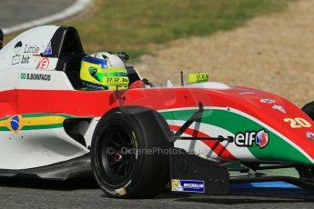 World © Octane Photographic Ltd. Eurocup Formula Renault 2.0 Championship testing. Jerez de la Frontera, Thursday 27th March 2014. Prema Powerteam – Bruno Bonifacio. Digital Ref :  0900lb1d1795