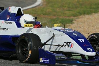 World © Octane Photographic Ltd. Eurocup Formula Renault 2.0 Championship testing. Jerez de la Frontera, Thursday 27th March 2014. Koiranen GP – Nicholas Surguladze. Digital Ref :  0900lb1d1865