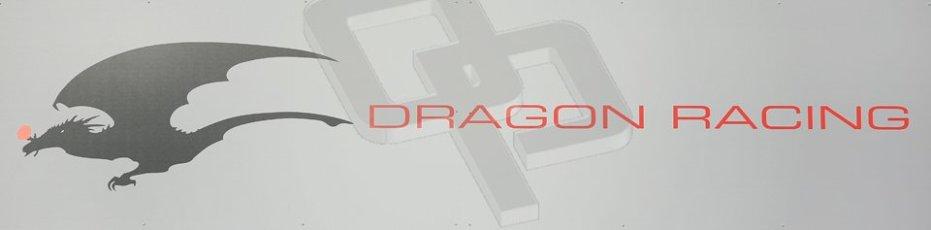 World © Octane Photographic Ltd. FIA Formula E testing Donington Park 10th July 2014. Dragon Racing logo. Digital Ref : 1032CB1D3280