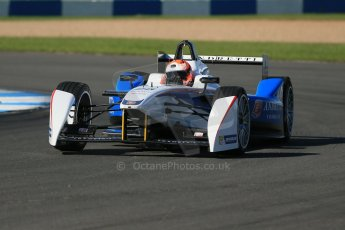 World © Octane Photographic Ltd. FIA Formula E testing Donington Park 10th July 2014. Spark-Renault SRT_01E. Andretti Autosport - Franck Montagny. Digital Ref : 1032CB1D3336