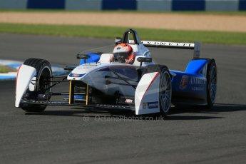 World © Octane Photographic Ltd. FIA Formula E testing Donington Park 10th July 2014. Spark-Renault SRT_01E. Andretti Autosport – Scott Speed. Digital Ref : 1032CB1D3337