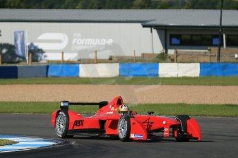 World © Octane Photographic Ltd. FIA Formula E testing Donington Park 10th July 2014. Spark-Renault SRT_01E. Audi Sport ABT - Daniel Abt. Digital Ref : 1032CB1D3366