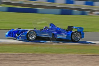 World © Octane Photographic Ltd. FIA Formula E testing Donington Park 10th July 2014. Spark-Renault SRT_01E. Amlin Aguri - Katherine Legge. Digital Ref : 1032CB1D3484