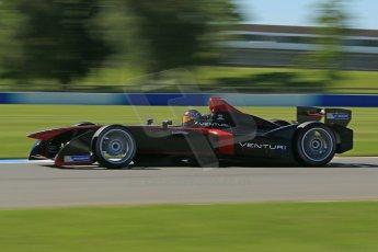 World © Octane Photographic Ltd. FIA Formula E testing Donington Park 10th July 2014. Spark-Renault SRT_01E. Venturi - Nick Heidfeld. Digital Ref : 1032CB1D3647