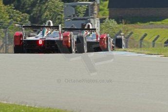 World © Octane Photographic Ltd. FIA Formula E testing Donington Park 10th July 2014. Spark-Renault SRT_01E. Mahindra Racing - Karun Chandhok and Bruno Senna. Digital Ref : 1032CB1D4155