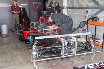 World © MountersPhotography/OctanePhotos.co.uk. FIA Formula E testing Donington Park 9th July 2014. Spark-Renault SRT_01E. Venturi - Stephane Sarrazin. Digital Ref : 1031JM1D0041